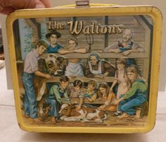 Item: 1973 The Walton& Vintage Metal Lunchbox Good Condition Lunch Box Only Retro Lunch Boxes, Metal Lunch Box, Vintage Metal, Vintage Toys, Old Shows, Boxing Day, Lunch Time, The Good Old Days, Childhood Memories
