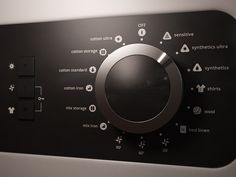 guitar controls inspiration... Dryer dial