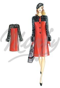 Our Patterns :: Marfy Collection 2015/2016 :: Sewing Pattern 3770 -