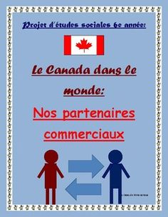 A fun ready-to-use project that I do with my grade 6 MFI students virtually every year. In this project students learn that trade is an important activity between two countries and the world community. Therefore, a healthy global economy involves trade (exchanging resources) and working together with others.