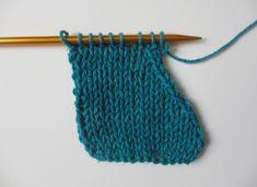 How to SSK (slip, slip, knit)