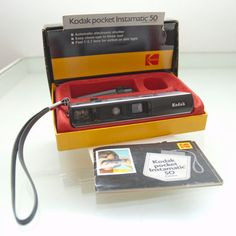 Kodak instamatic Pocket 110 Film Camera Vintage 1970s via Etsy - i was a very lucky girl and had one of these growing up.