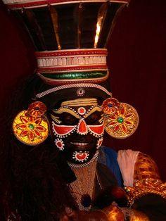 Katikali Dancer, Cochin, Kerala, India