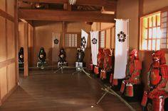 Samurai armor(Hitoyoshi Castle Site in Kumamoto-ken,Japan)