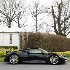 Sunny week, rainy bank holiday weekend #goodoldengland oh yeah #Porsche #918 #74mm