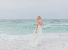 BHLDN Bridal Beach Wedding Inspiration | Emerald Coast Destination Wedding Photographer | The Jacksons Photography