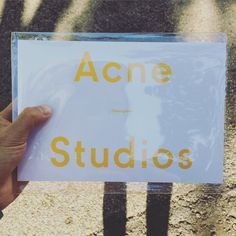 Acne Studios Korea