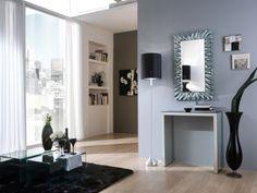 Zrcadlo Falesia SILVER 98x58 Mirrors, Silver, Furniture, Home Decor, Entryway, Decoration Home, Room Decor, Home Furnishings, Home Interior Design