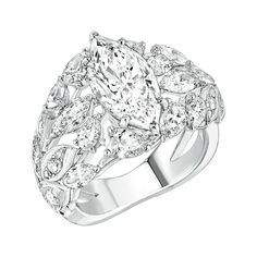 Brins de Diamant #Ring from #LesBlesDeChanel - #Chanel - #FineJewelry collection…