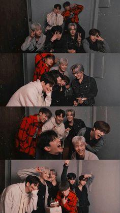 Yg Ikon, Ikon Junhoe, Ikon Kpop, Hanbin, Kim Jinhwan, Ikon Wallpaper, Fandom, Aesthetic Collage