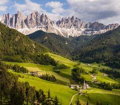 Mountain Village, Val Di Funes, Italy #RRItaly