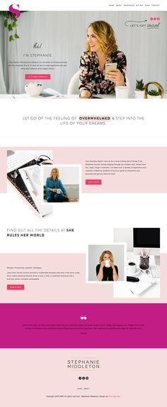 Fierce Kansas City women-led agency creating authentic brands, web design and digital strategy. Website Design Inspiration, Website Design Layout, Web Design Tips, Web Design Trends, Layout Inspiration, Layout Design, Website Designs, Design Ideas, Blog Design