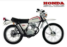 1972 HONDA SL125-K1 (Rickster G) Tags: pictures classic vintage honda ads photo flyer image photos picture motorcycles literature oldschool sl trail photographs 350 photograph motorcycle 70s dirtbike collectible sales brochure rare xl 250 thumper motorsport enduro dealer 125 twinshock vjm vinduro