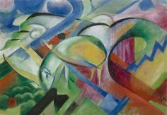 Franz Marc Poster - The Sheep