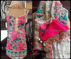 Floral perfection by Poonam's Kaurture.