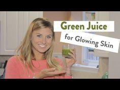 Green Juice Recipe For Glowing Skin