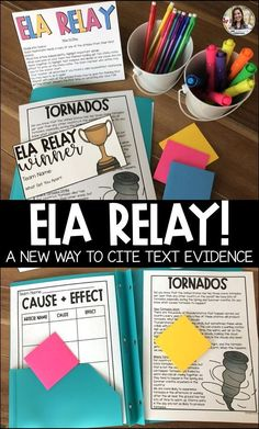 Fun reading game to practice cause and effect with elementary students. Reading activity for test prep or test review. ELA fun game for elementary classroom. 2nd grade reading game with nonfiction passages. Close reading game 2nd grade.