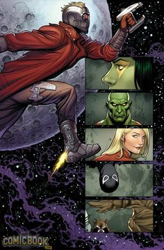 Guardians of the Galaxy by Frank Cho