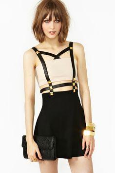 Harness Stud Dress