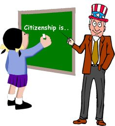INTRODUCTION TO CITIZENSHIP~  This section of Congress for Kids has resources for teaching about responsible citizenship, attitudes and actions that lead to responsible citizenship, communicating in communities, working to keep your freedom, and even sharing opinions about certain citizens.  Includes key words and definitions, an explanation of the basic features of citizenship, and activities where students are the only person on earth!