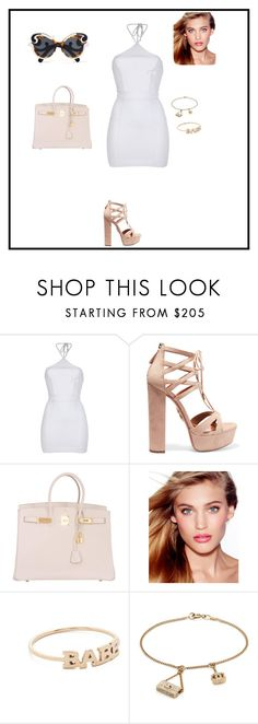 """""""Untitled #173"""" by sb187 ❤ liked on Polyvore featuring Dsquared2, Aquazzura, Hermès, Charlotte Tilbury, ZoÃ« Chicco, Chanel and Prada"""