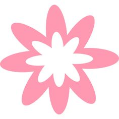 Pink Burst Flower ❤ liked on Polyvore featuring backgrounds and filler