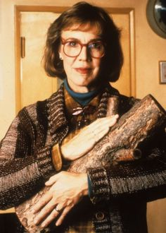 "Log Lady :: Twin Peaks :: 1991    "" I carry a log - yes. Is it funny to you? It is not to me.    Behind all things are reasons. Reasons can even explain the absurd.    Do we have the time to learn the reasons behind the human beings    varied behavior? I think not. Some take the time. Are they called    detectives? Watch - and see what life teaches."""