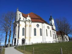 The famous Wies church in Upper Bavaria