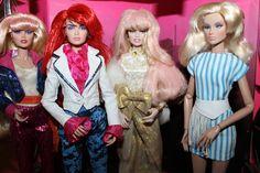Jem dolls, FR, Jerrica doll, Kimber doll, Danse doll