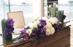 #amandansail#novarese#VressetRose #Wedding #japanese #main table #table #Flower #Bridal#アマンダンセイル# ブレスエットロゼ #ウエディング# 和風 #和装 # メインテーブル#トーション #テーブル # 花#テーブルコーディネート# 蘭#ブライダル#結婚式