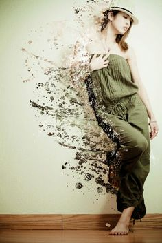 Dispersion Photoshop Tutorial | Collection of Photoshop dispersion/ Splatter effects in Photoshop ...