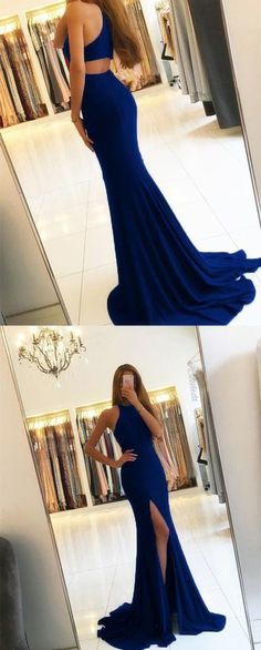 navy blue prom dress,mermaid prom dress,open back evening dress,mermaid evening gowns,sexy prom dresses