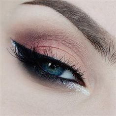 Makeup Geek Look, love this for any time of year. pampadour.com #makeup #eyes