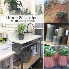 2016 Home and Garden spring trends. Want to know what's showing up in trade shows from Vancouver to Dallas to Toronto to Seattle? It's all here and there is SO much to LOVE!!!!