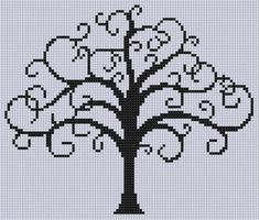 Tree of Life 2 Cross Stitch Pattern by Motherbeedesigns - Craftsy