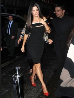 Sandra Bullock in London