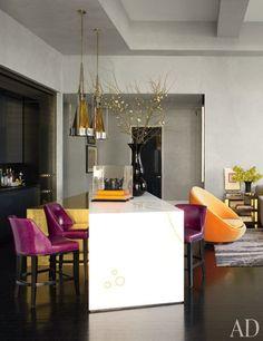 New York City Apartment Designer Jamie Drake S New York Kitchen Boasts
