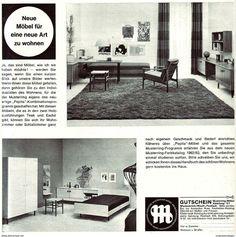 Original-Werbung/ Anzeige 1962 - MUSTERRING MÖBEL - Ca. 200 X 200 Mm - Werbung