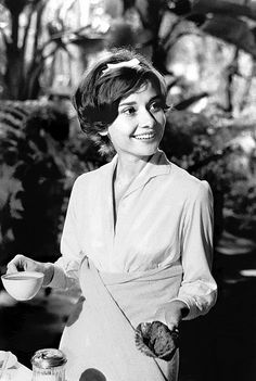 """When you have nobody you can make a cup of tea for, when nobody needs you, that's when I think life is over.""  — Audrey Hepburn"