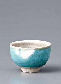 "Yoshinori Hagiwara, YH469, Sake cup, nuka and namijiro glazes, Stoneware, 1.75 x 2.5 x 2.5"""