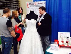 Dress 2 Impress Bridal & Formal Boutique from Linwood, NJ at the 2014 Bridal Fair at the Wildwoods Convention Center ... #njwedding #bridalfair #wildwoodbridalfair #wildwood #wildwoodnj #wildwoods #thewildwoods #jerseyshore #weddingplanning #njbridalshow #njbride #njgroom #bridalgown #weddingdress #brides #cmcchamber #wildwoodsbridalfair #dress2impressnj #njweddings