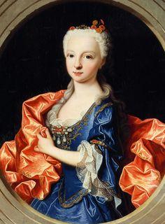 f10d0c23e Jean Ranc. Infanta Maria Teresa Antonia Rafaela of Spain