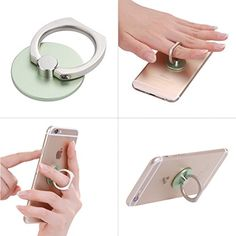 Phone Stand Multi-Angle Portable Stand for iPhone 6,360 Rotation Luxury 3D Aluminium Metal Ring Grip/Phone Holder for Apple iPhone 6 Plus 5S 5C Samsung Galaxy S6 S5 mini S4 S3 Note 5; HTC;LG G4(Green) Generic http://www.amazon.com/dp/B011QDEBTU/ref=cm_sw_r_pi_dp_y0K7vb1C3X7R3