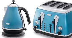 Breville Teal Traditional Kettle Toaster Set Vtt366 Vkj693