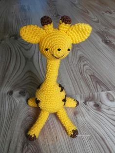 Szydełkowa Żyrafa