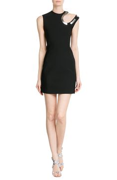 MUGLER Crepe Dress with Cut-Out Detail  € 1.999