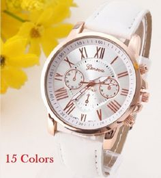 Watches Charitable Best Sale 2018 Fashion Womens Bracelet Vintage Weave Wrap Quartz Pu Leather Leaf Beads Wrist Watches Lady Watch Relogio Feminino With A Long Standing Reputation