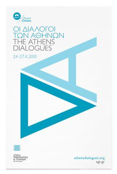 The Athens Dialogues &  Visual Dialogues by Bend , via Behance