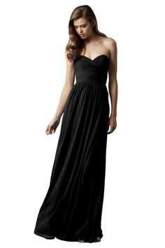 Shop Watters Bridesmaid Dress - Pine in Crinkle Chiffon at Weddington Way. Find the perfect made-to-order bridesmaid dresses for your bridal party in your favorite color, style and fabric at Weddington Way.