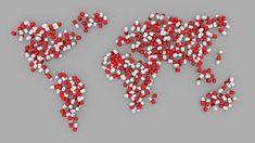 World, Map, Pill, Earth, Healthcare